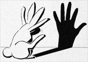 illüzyon sanatı tavşan el